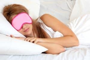 Sleeping accessories - sleep mask