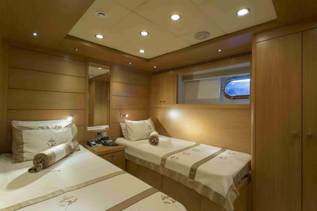 How can I get a good night's sleep on a boat