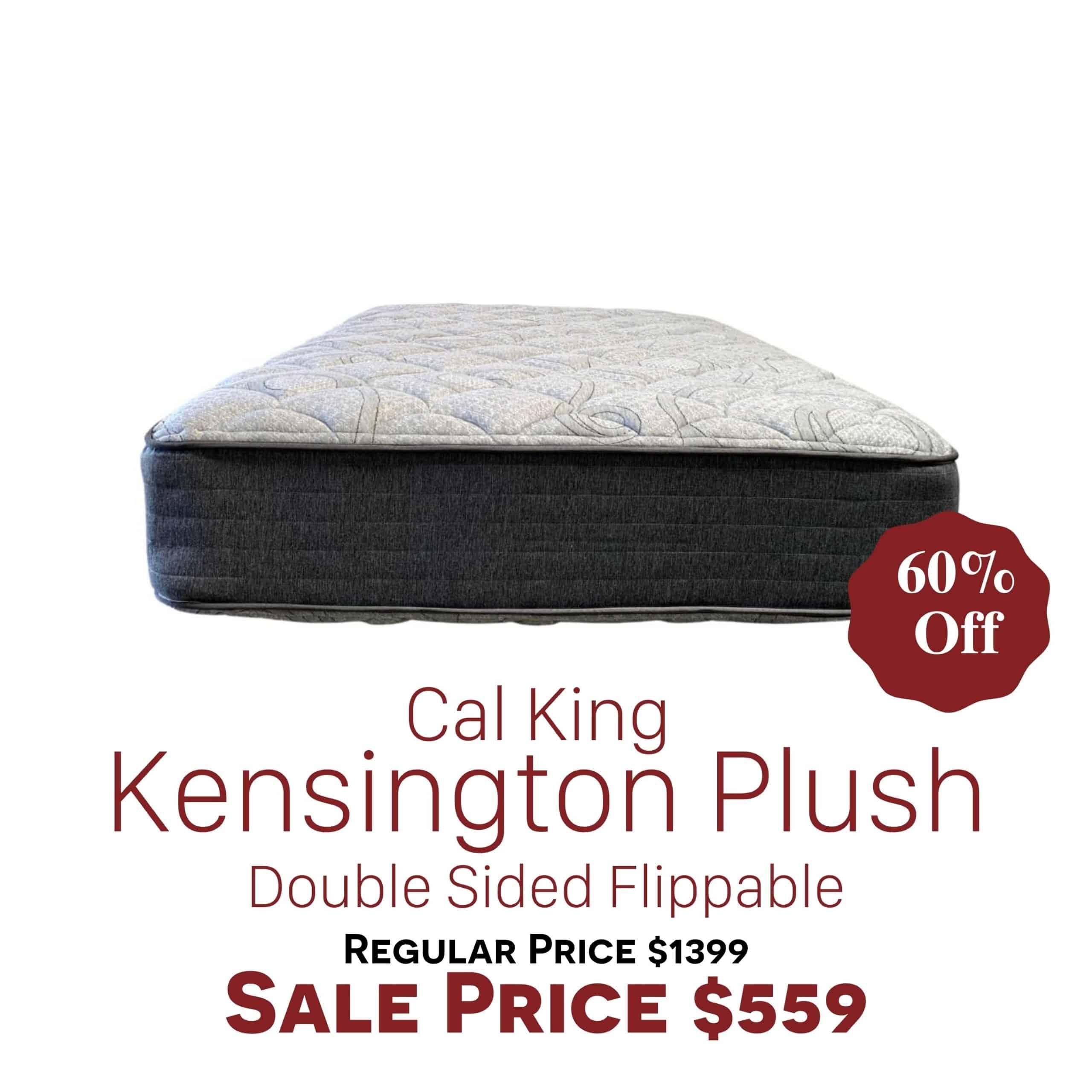 Cal King Kensington Plush Clearance