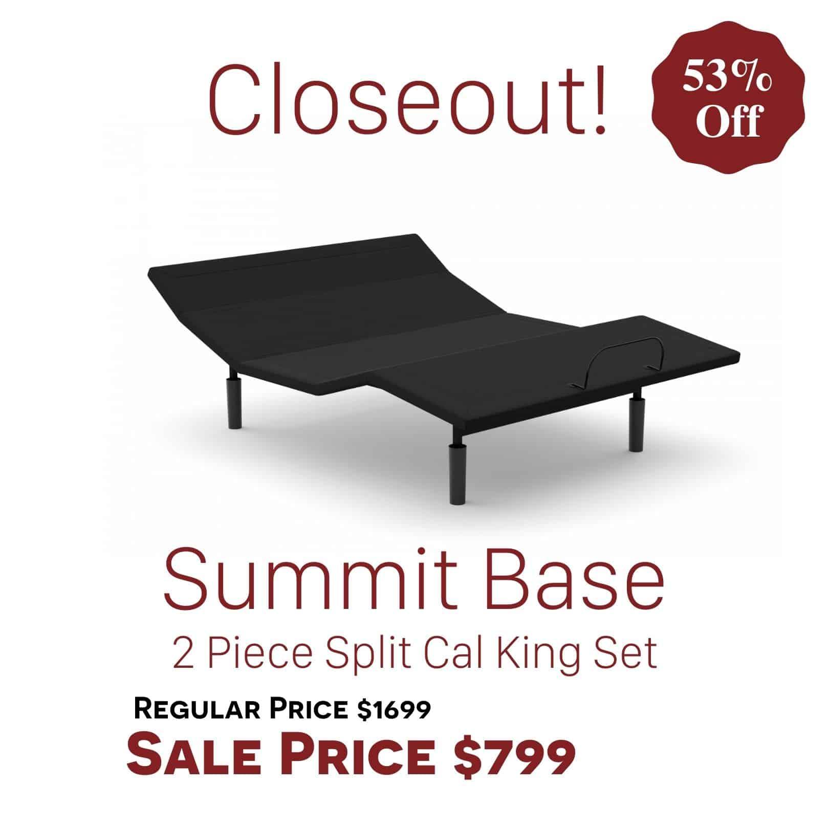 Rize Adjustable Base Sale