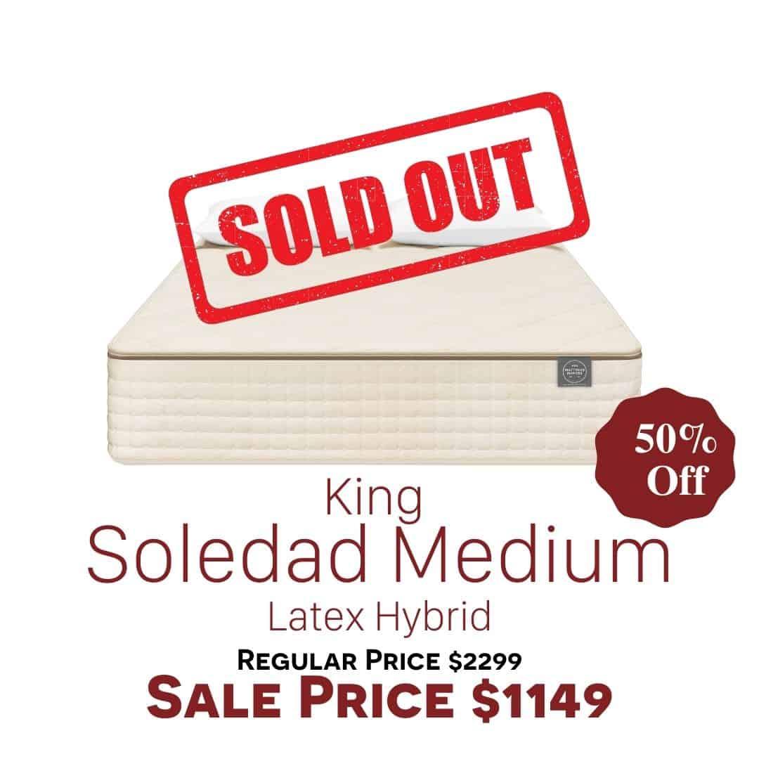 King Soledad Medium Clearance Sold